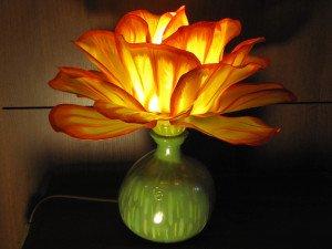 Lampe de table ou de chevet.Signé Christian CRESSON